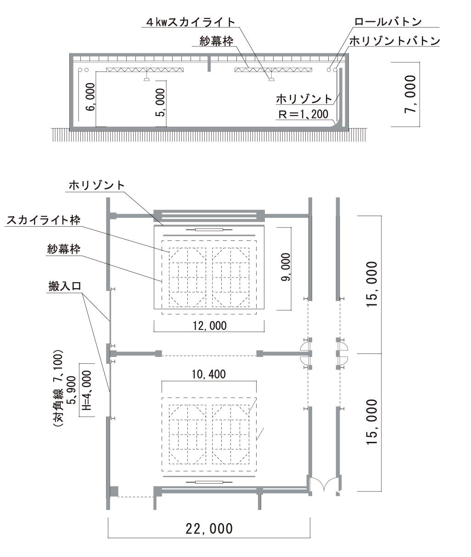 第2(E+F)スタジオ